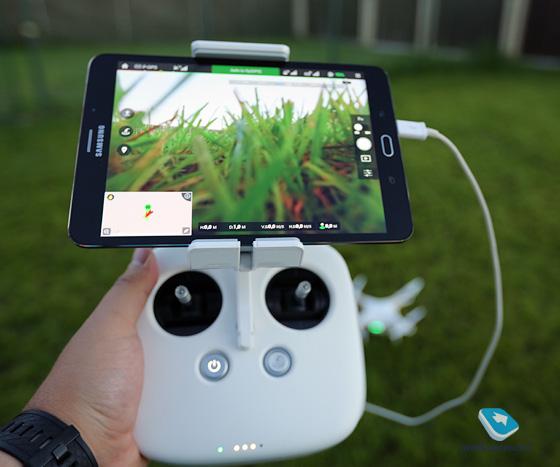 Держатель смартфона android (андроид) для коптера фантом линзы в очках виртуальной реальности