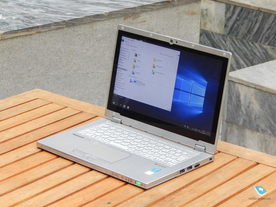 Обзор ноутбука-трансформера Panasonic Let's Note CF-AX3