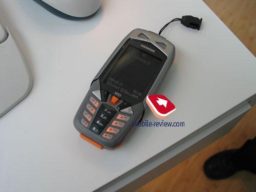 Mobile-review com Samsung at CeBIT 2004
