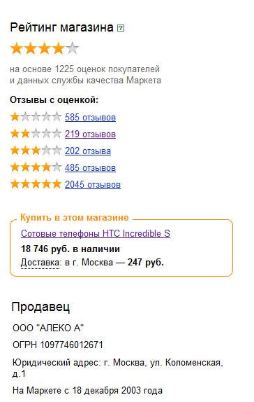 dfe69f588d8b Лохотрон от Pleer.ru — как работают онлайн магазины в России и Яндекс.Маркет