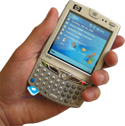 Mobile-review com Review GSM communicator HP iPaq hw6515