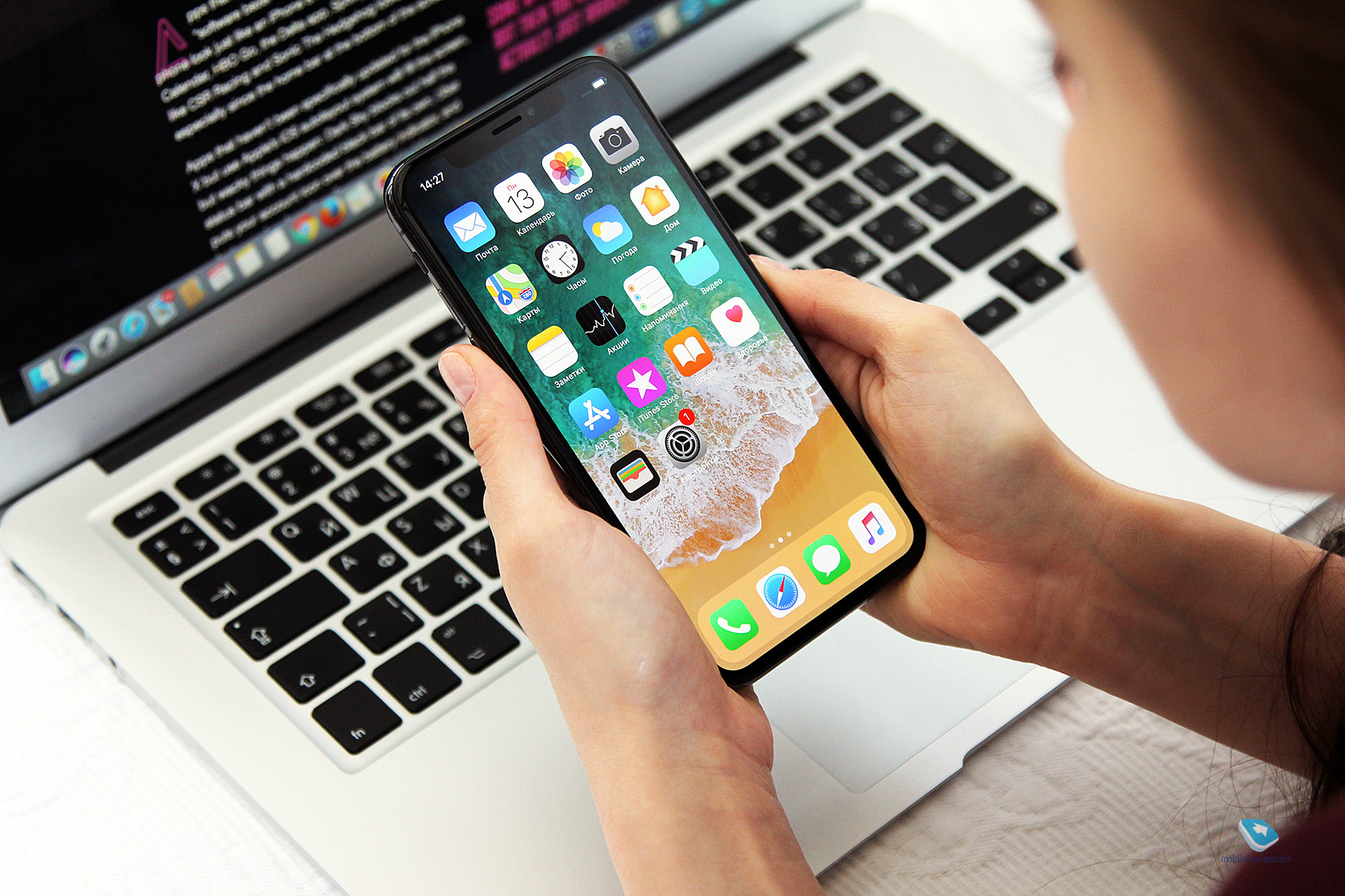 Mobile Review Com Обзор флагмана Apple Iphone X Часть 1