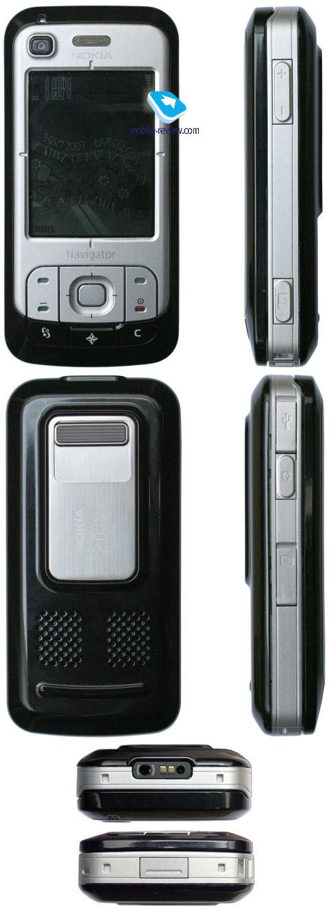 Mobile-review com Review of GSM/UMTS-smartphone Nokia 6110