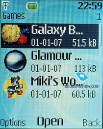 galaxy balls nokia mobile game