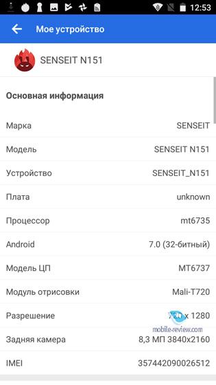 Senseit N151
