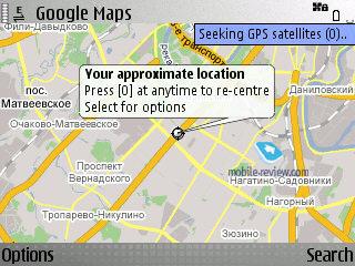 Поиск людей на карте google