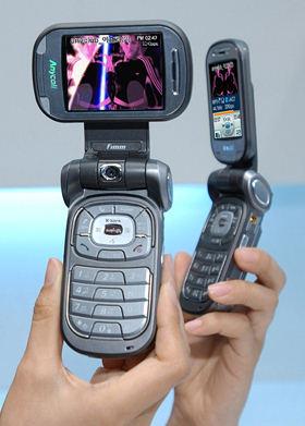 SPH-B2500: DMB-телефон с функцией сжатия MP3-файлов